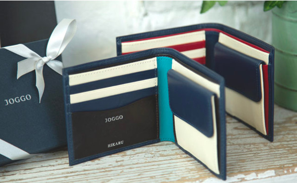 JOGGOの二つ折り財布